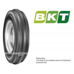 6.00-16 6ply BKT 3-Rib Tractor Front Tyre