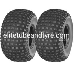 One Pair: 22x11.00-8 4ply Deestone D-929 ATV Tyres