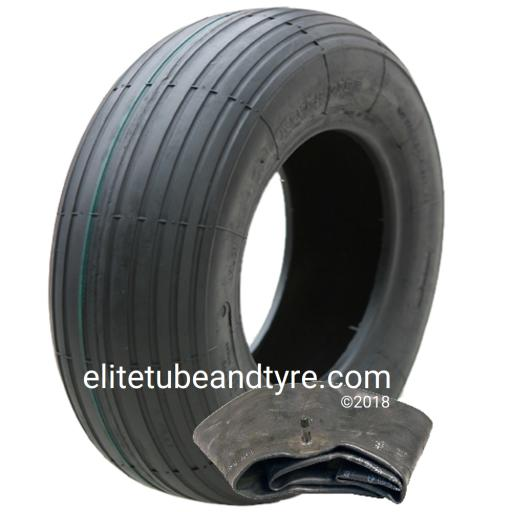 3.50-6 4ply Duro HF-207 MultiRib Tyre & Tube Set