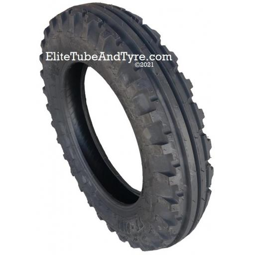 5.00-16 6ply BKT 4-Rib Tractor Front Tyre